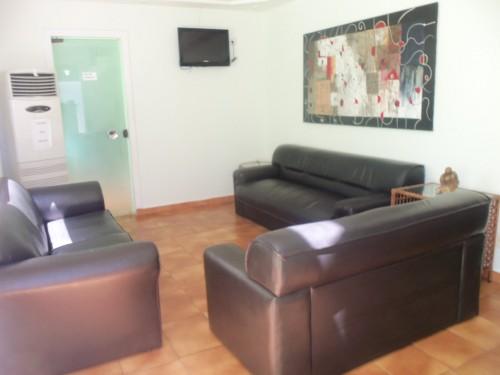 sala de espera consultórios